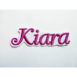Appliqué, patch prénom Kiara