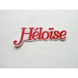 Appliqué patch prénom Héloïse