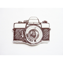 Appareil photo broderie thermocollant