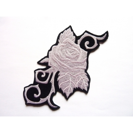 Patch thermocollant rose (fleur)