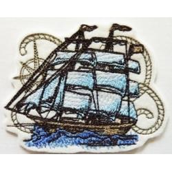 Patch thermocollant voilier, bateau nauticus