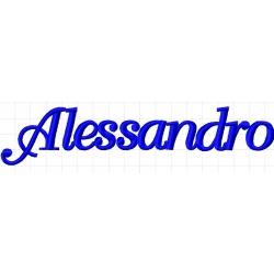 Appliqué, patch prénom Alessandro