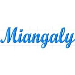Appliqué patch prénom Miangaly