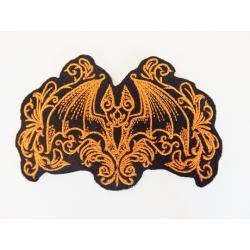 Appliqué chauve-souris gothique