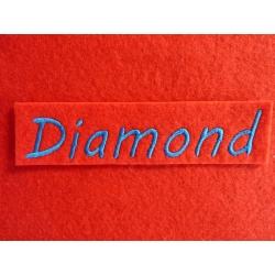 Appliqué, patch prénom Diamond