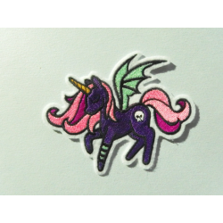 Patch thermocollant licorne ailée 2
