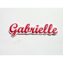 Appliqué, patch prénoms : Gabrielle