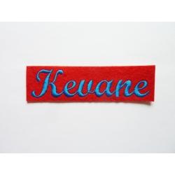 Appliqué, patch prénoms Kevane