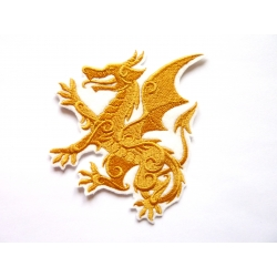 Patch thermocollant dragon héraldique