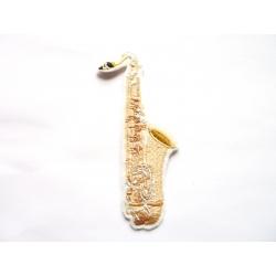 Saxophone2 (instrument de musique) thermocollant