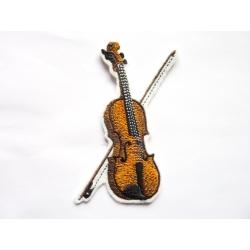 Violon (instrument de musique) thermocollant