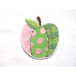 Pomme style appliqué thermocollante