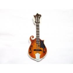 Mandoline (instrument de musique) thermocollante