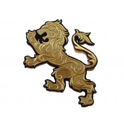 Appliqué thermocollant lion héraldique