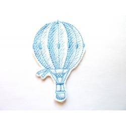 Ecusson thermocollant ballon dirigeable