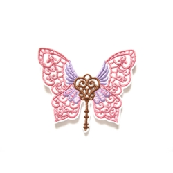 Patch thermocollant clé papillon (butterfly)
