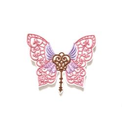 Patch thermocollant clé papillon (butterfly)