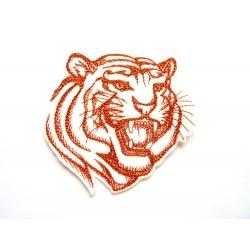 Tête de tigre1 thermocollante