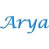 Appliqué patch prénom Arya