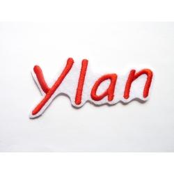Appliqué patch prénom Ylan