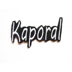 Appliqué patch prénom Kaporal2