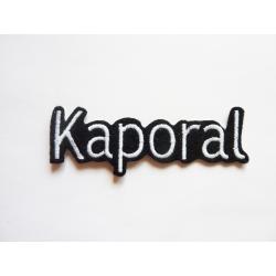 Appliqué patch prénom Kaporal4