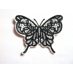 Patch thermocollant papillon noir