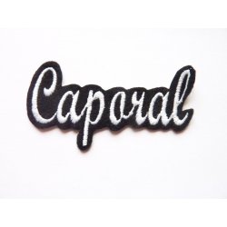 Appliqué patch prénom Caporal
