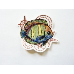 Patch thermocollant poisson multicolore