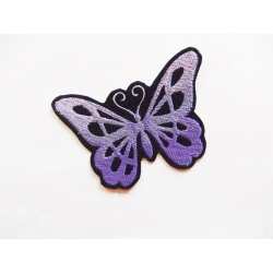 Patch thermocollant papillon mauve
