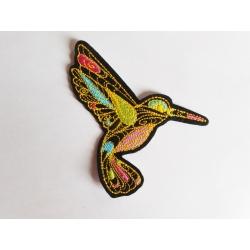 Patch thermocollant colibri doodle