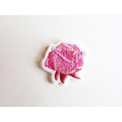 Broderie thermocollante petite rose