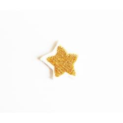 Patch thermocollant petite étoile dorée