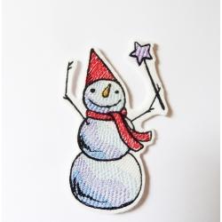 Ecusson bonhomme de neige