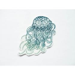 Appliqué méduse