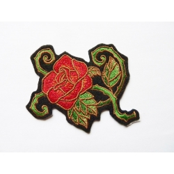Patch thermocollant rose