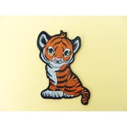 Ecusson bébé tigre