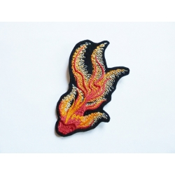 Patch thermocollant poisson, carpe koï orange