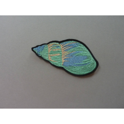 Appliqué thermocollant coquillage