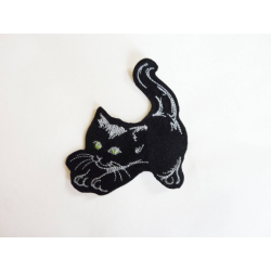 Appliqué thermocollant chat qui s'étire