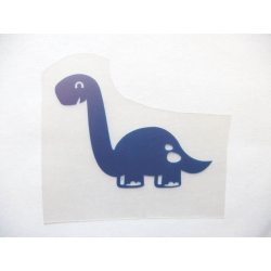 Appliqué flex dinosaure