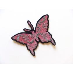 Appliqué thermocollant papillon et filigrannes
