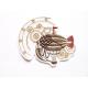 Ecusson thermocollant ballon dirigeable steampunk