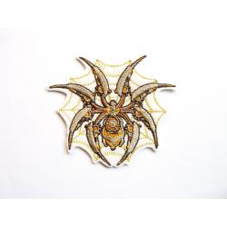 Ecusson thermocollant steampunk : Araignée