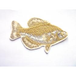 Carpe noire thermocollante (poisson)