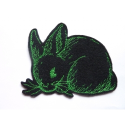 Patch thermocollant lapin