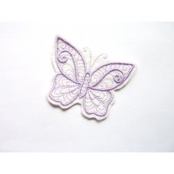 Patch thermocollant papillon mauve