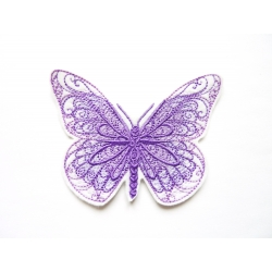 Patch thermocollant mauve (butterfly)