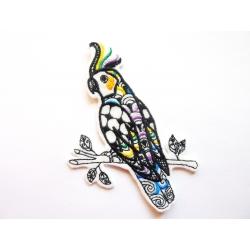 Patch thermocollant perroquet (oiseaux)