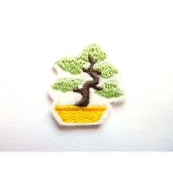 Ecusson thermocollant petit bonsaï
